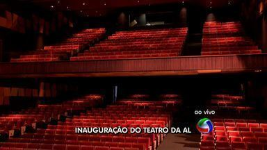 Teatro da Assembleia Legislativa será inaugurado nesta segunda - Teatro da Assembleia Legislativa será inaugurado nesta segunda