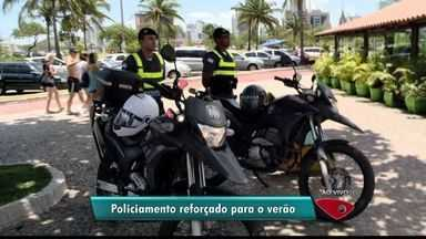 Polícia reforça segurança nas praias durante o verão no ES - Ação começa nesta sexta-feira (26).