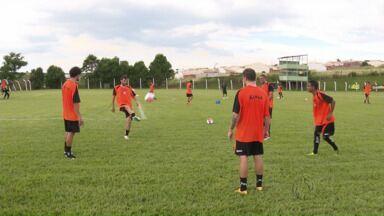 Maringá FC começa a treinar para o Paranaense e Copa do Brasil - Time busca entrosamento para estrear no Estadual, que começa no dia 1º de fevereiro