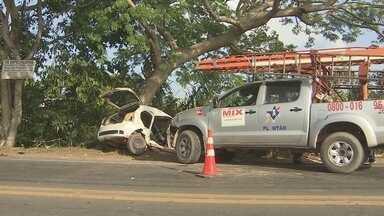 Noite de natal é marcada por acidentes de trânsito em Macapá - Um acidente foi registrado na rodovia Duca Serra. No bairro Novo Horizonte, uma pessoa morreu vítima da imprudência no trânsito