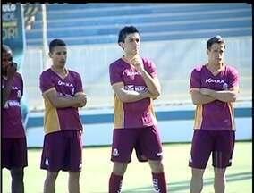 Equipe do Macaé volta aos treinos com parte da equipe renovada - Novos jogadores se apresentaram.