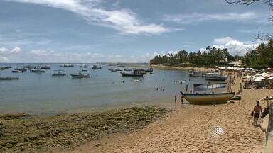 Praia do Forte é um dos locais mais procurados no Litoral Norte da Bahia - Muitos turistas que viajam para a região fazem questão de conhecer o local. Para o réveillon, a taxa de ocupação dos hotéis é de 70%.