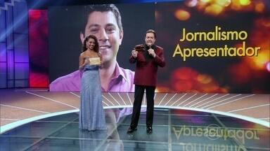Evaristo Costa é eleito o apresentador de jornalismo de 2014 - Jornalista disputou com Sandra Annemberg e Renata Vasconcelos