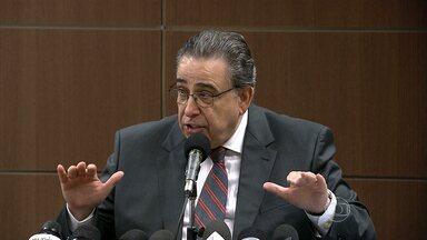 Alberto Pinto Coelho faz balanço do período em que esteve à frente do governo de MG - Ele disse que, mesmo com falta de recursos, governo cumpriu Lei de Responsabilidade Fiscal.