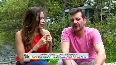 Roberto Birindelli elege a cena mais impactante de Josué de Império - O ator interpreta o braço direito do comendador José Alfredo