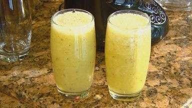 Fernando Kassab ensina receita de suco com maçã, gengibre, limão e laranja - Fernando Kassab ensina receita de suco com maçã, gengibre, limão e laranja