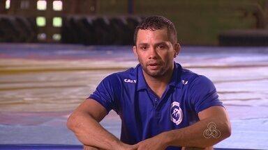 No AM, Waldecir Silva treina com foco nas olímpicas de 2016 - Atleta é um dos nomes da luta olímpica amazonense