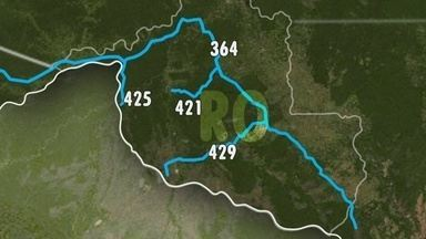 Rondônia TV mostra que quantidade de policiais para fiscalizar as fronteiras baixa - Reportagem mostra que quantidade de policiais fiscalizando as fronteiras é bem baixa para a real demanda do estado.