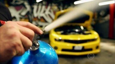 Conheça o gás que dá ainda mais velocidade aos esportivos - Motos e carros feitos para acelerar ficam ainda mais rápidos com o uso do gás nitro.