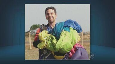 Médico que caiu de paraquedas em Piracicaba é enterrado em Londrina, PR - Luis Henrique Garcia Lopes era paraquedista profissional, mas o equipamento não funcionou e ele caiu no campus da USP na cidade.