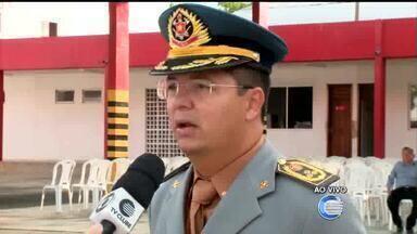 Novo comandante do Corpo de Bombeiros toma posse em Teresina - Novo comandante do Corpo de Bombeiros toma posse em Teresina