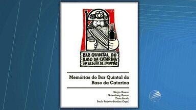 Livro conta histórias e crônicas de frequentadores de um bar de Salvador - Lançamento acontece nesta segunda (12).