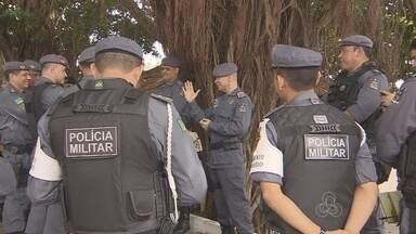 Polícia Militar realiza operação de combate à criminalidade no Amapá - A Polícia Militar realizou no fim de semana a operação de combate à violência no Amapá. 350 policiais estão dando um reforço nas ruas de Macapá e Santana