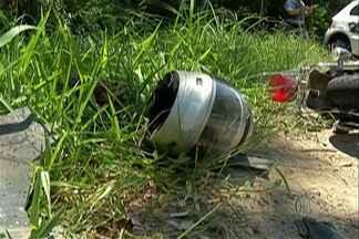 Motociclista morto na Mogi-Bertioga é enterrado em São Paulo - O fim de semana teve também flagrante de balões em Guararema.