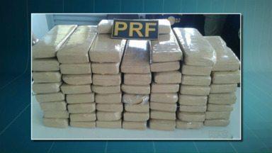 Homem é preso por tráfico internacional de drogas em Alto Paraíso - Com ele foram encontrados mais de 50 quilos de maconha.