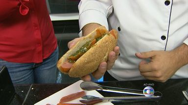 Além do tradicional, aprenda a fazer cachorro-quente vegetariano - Quem ensina as receitas é o chef de cozinha Renato Lobato.