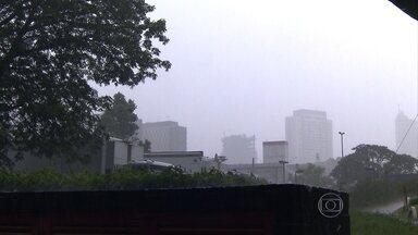 Mulher morre ao ser atingida por raio no Paraná - O acidente aconteceu no distrito de Arroio Guaçu, em Mercedes. Dolores Francener estava embaixo de uma árvore quando foi atingida pela descarga elétrica.