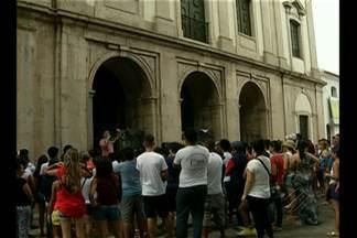 Em comemoração ao aniversário da cidade, historiador promove passeio no centro de Belém - Iniciativa, que ocorre há 10 anos, pela primeira vez garantiu acessibilidade, incluindo pessoas cegas e surdas.
