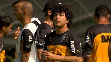Há dois anos no Atlético-MG, Luan participa pela primeira vez da pré-temporada no clube - O jogador estava sempre lesionado no período de preparação