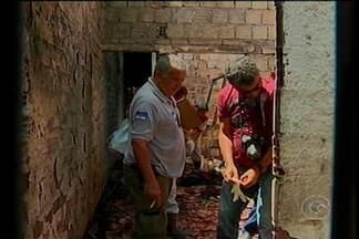 Primos morrem durante incêndio em Jaboatão dos Guararapes - Os primos, um de 26 e outro de dez anos, estavam dormindo quando a casa pegou fogo.
