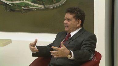 Entrevista com o Desembargador do Estado Luiz Carlos Gomes - A mudança na presidência do Tribunal de Justiça do Amapá deve ocorrer antes do previsto. Isso porque o atual gestor, o Desembargador Luiz Carlos Gomes, está se aposentando