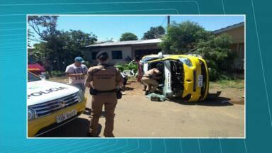 Motorista morre em acidente na BR-277 em Guarapuava - O motorista de 34 anos morreu após bater de frente com uma carreta. E durante uma perseguição, policiais militares sofreram acidente na cidade.