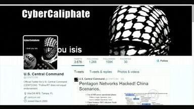 Hackers invadem contas na internet ligadas ao Departamento de Defesa dos EUA - O governo americano confirmou o ataque a duas contas do comando central das forças armadas. É este centro que planeja os ataques aéreos contra áreas dominadas pelo Estado Islâmico na síria e no Iraque.