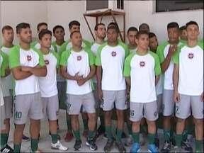Ipatinga apresenta equipe que vai disputar o Módulo II do Campeonato Mineiro - Equipe é formada por 30 jogadores.