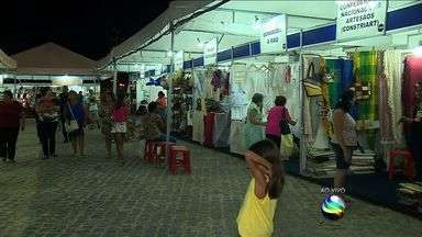 Feira de Sergipe movimenta Orla da Atalaia - Feira de Sergipe movimenta Orla da Atalaia