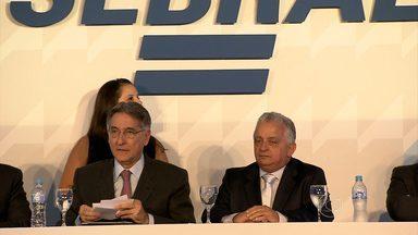 Nova diretoria do Sebrae Minas toma posse em Belo Horizonte - Olavo Machado Júnior assumiu o cargo e ficará à frente da instituição até 2018.
