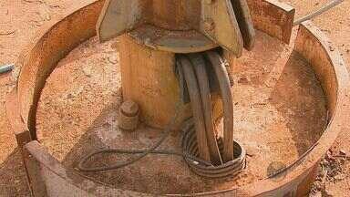 Abastecimento de água volta ao normal após troca de bomba em Santa Lúcia - Abastecimento de água volta ao normal após troca de bomba em Santa Lúcia
