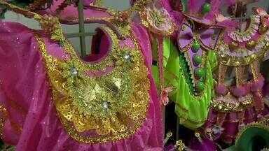 Escolas de samba de Juiz de Fora se preparam para o carnaval - Faltam 21 dias para o carnaval antecipado na cidade. Desfile ocorre nos dias 7 e 8 de fevereiro.