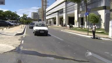 Trânsito será modificado nas Avenidas Paulo VI e ACM e Caminho das Árvores - As alterações serão feitas no trânsito da região a partir da segunda-feira (19).
