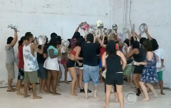 Espetáculo Batucada é apresentado no Galpão do Dirceu - Espetáculo Batucada é apresentado no Galpão do Dirceu