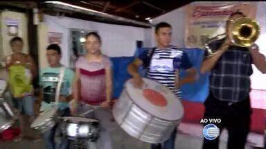 Banda Bandida dá início às tradicionais prévias carnavelescas - Banda Bandida dá início às tradicionais prévias carnavelescas
