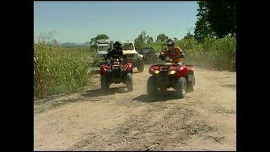 Expedição Off Road de Verão acontece em Marataízes, no ES - Concentração aconteceu neste domingo (18) a partir das 8h.