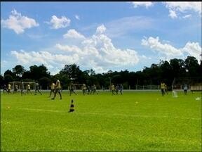 União Frederiquense se prepara para o campeonato gaúcho em amistoso - O time enfrentou o Cascavel neste sábado