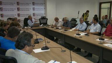 Ministério Público realiza reuniao para firmar regras para o Campeonato Paraibano - Reunião aconteceu no Ministério Público.