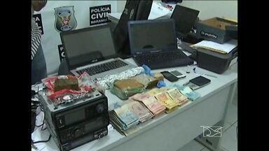 A polícia intensifica, em Codó, o combate ao tráfico de drogas - A polícia intensifica, em Codó, o combate ao tráfico de drogas.