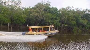 Calendário escolar na Zona Rural de Manaus já começou - Cronograma diferenciado muda a rotina de milhares de estudantes.