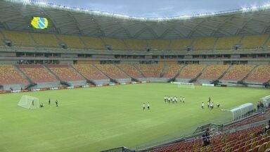 Vasco e Flamengo treinam em Manaus para torneio que começa nesta quarta (21) - Times disputam dois jogos na capital.