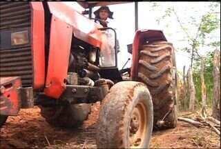 Com pouca chuva, agricultores aproveitam melhor a água - Funceme prevê mais um ano de estiagem no Ceará.