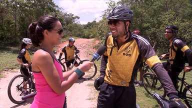 Novas aventuras radicais em Correntina com Renata Menezes - Em Correntina, a repórter conhece um grupo de aventureiros que apresenta um roteiro rico em rios e morros. Um bioma de transição chamado de 'gerais'.