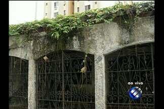 Vizinhos denunciam abandono de casas e terrenos em pontos de Belém - Moradores dizem que falta de manutenção em imóveis favorece a proliferação de mosquitos que podem transmitir doenças;