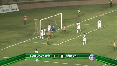 Náutico perde na final da Supercopa do Ma para o Sampaio Corrêa - Timbu é derrotado por 1 a 0 em São Luís