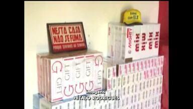 PRF apreende carga de cigarros falsificados avaliada em R$ 2 milhões - PRF apreende carga de cigarros falsificados avaliada em R$ 2 milhões