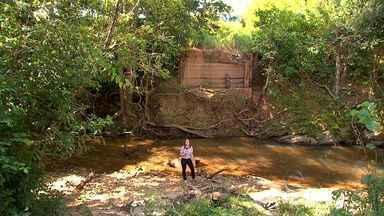 Moradores do Cinturão Verde reclamam de pontes quebradas - Moradores do Cinturão Verde reclamam de pontes quebradas