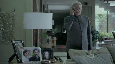 Silviano fica indignado com a volta de Zé - Maurílio descobre que foi expulso de casa por Maria Marta