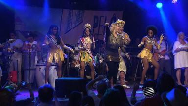 Artistas que fizeram a história do Axé Music se reúnem em apresentação no Pelourinho - Noite foi de matar a saudade do axé das antigas.