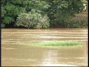 Mesmo com chuvas dos útimos dias, situação do Rio Doce, no Leste de Minas, ainda é grave - Diretor do IBIO, Edosn Azevedo, afirma que momento é de alerta, pois o período de estiagem pode ser prolongado.